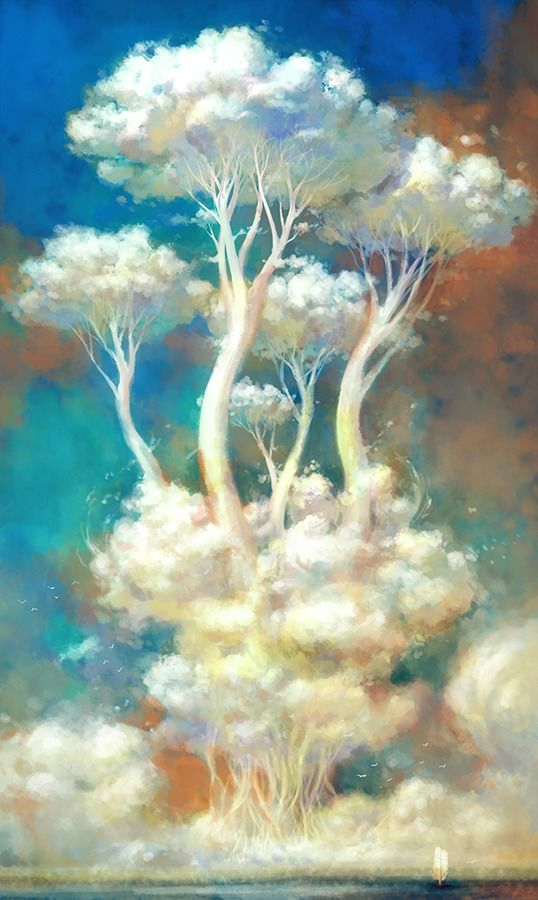 Clouds Tree by YONG - YongSub Noh - CGHUB via PinCG.com