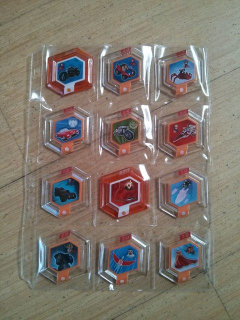 Disney Infinity Disc Storage System Links To Binder Pages Individual Inserts
