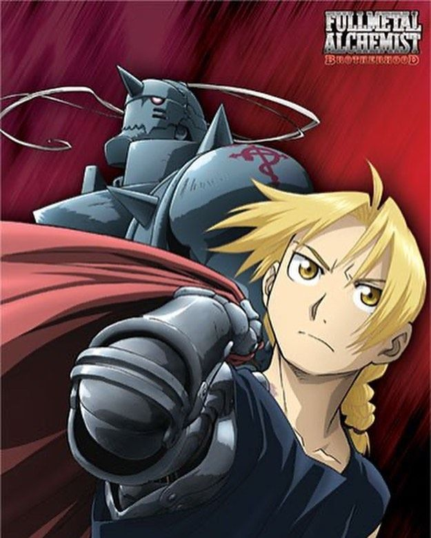 Fullmetal Alchemist Brotherhood Show Rating 8 10 Op Ed 6 10 I Think The First Opening Fullmetal Alchemist Brotherhood Fullmetal Alchemist Elric Brothers