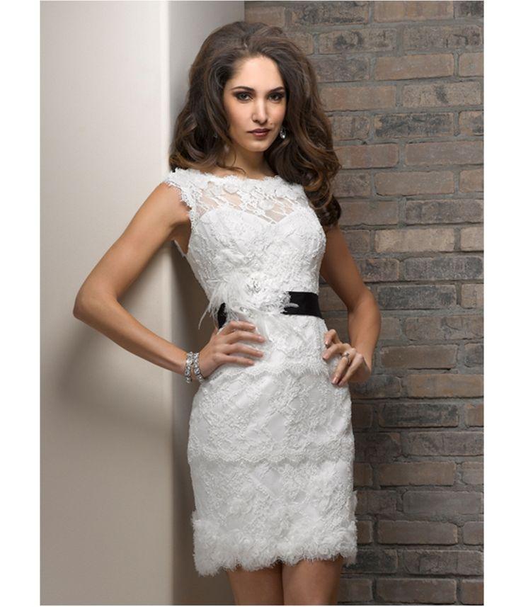 Vegas style wedding dress