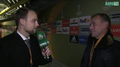 Axel #Lawaree im Interview mit Christian Wiesmayr für RAPID-TV. #KRCSCR #UEL ___________ Liveticker: skrapid.at/liveticker bzw. twitter.com/skrapid