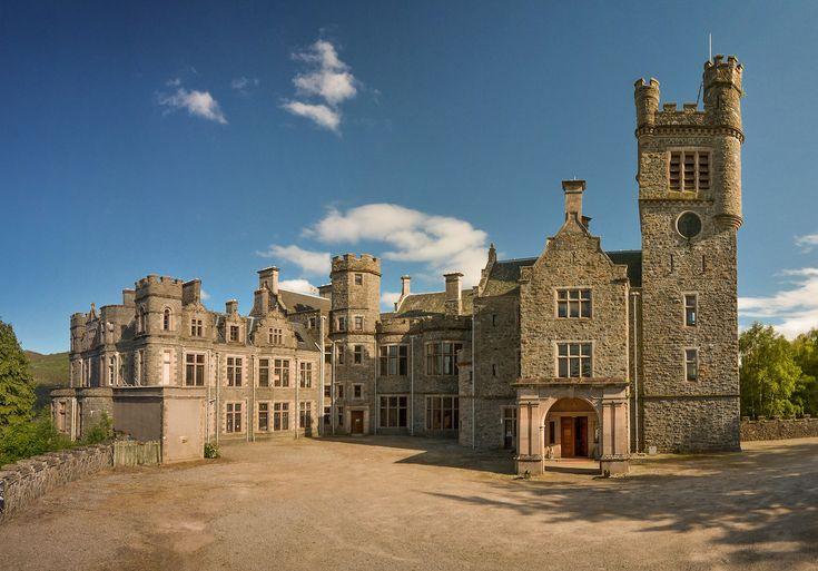 "nordicsublime:  ""Carbisdale Castle - mansion global  """