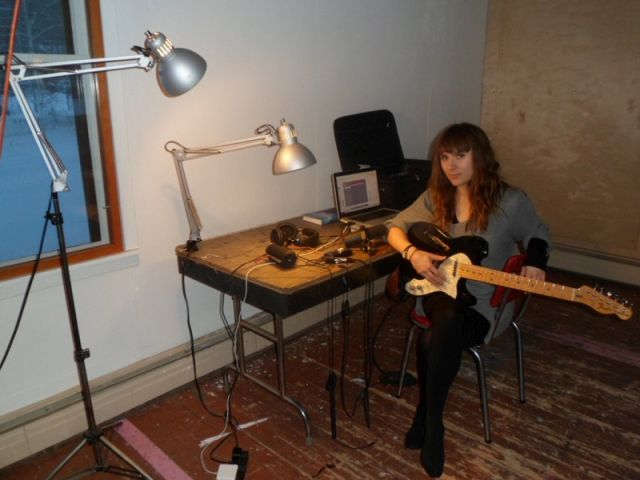 Louise Burns, a Canadian singer-songwriter and former member of the girl band Lillix, just completed a month's residency in Dawson City as the songwriter in residence.   The Vancouver musician says it was her boyfriend who found the opportunity...