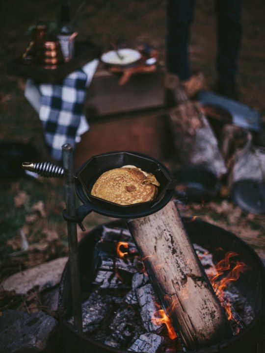 Autumn. #fire Осенний пикник и костер