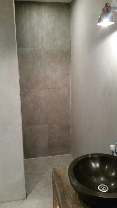 beton cire en tegels douche pinterest spaces and house
