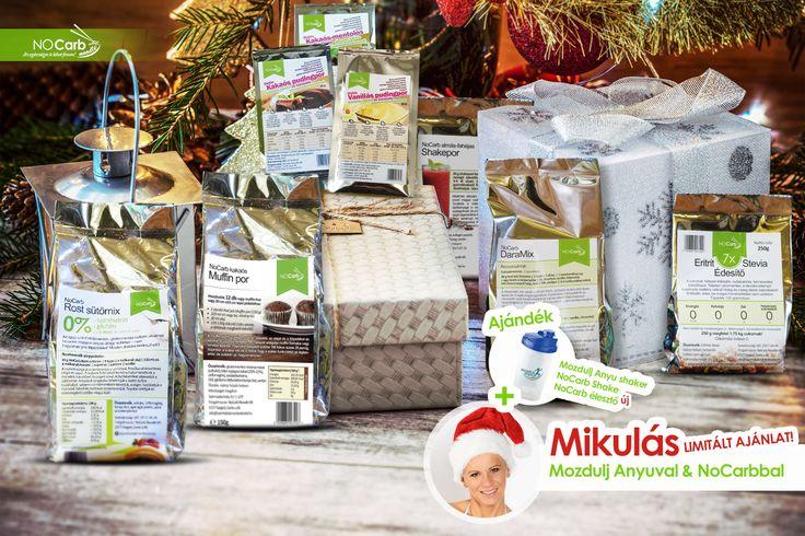 LIMITÁLT csomag ajánlat + ajándék Mozdulj Anyu Shaker, NoCarb Shake, NoCarb sütőpor! | Klikk a képre a részletekért/rendelésért!