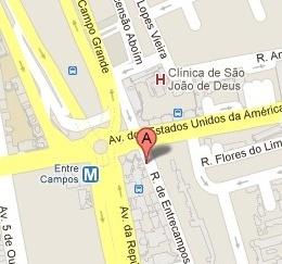 Ourinvest Entrecampos - Lisboa  Onde estamos!