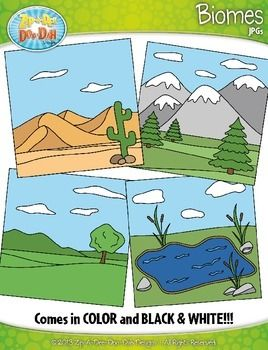 Biomes Ecosystems Clipart Zip A Dee Doo Dah Designs Biomes Ecosystems Animal Habitats