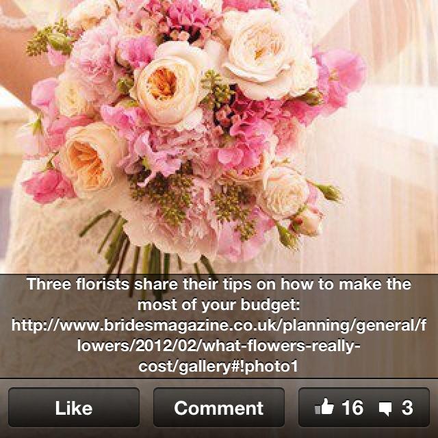 Pink white bouquet