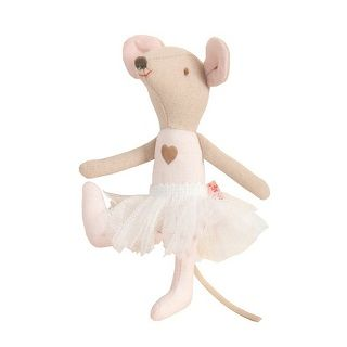 MAILEG CIRCUS BALLERINA MOUSE - $25.95 - From the children's Circus range the adorable circus ballerina mouse is perfect for stimulating young minds and develop imaginative thinking and play.  Your little one will love to play with the circus characters and perform their very own circus show. #sweetcreations #kids #gifts #maileg #circus