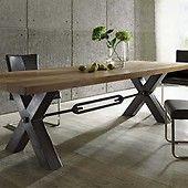 Die besten 20 massivholz tischplatte ideen auf pinterest for Esstisch industriestil