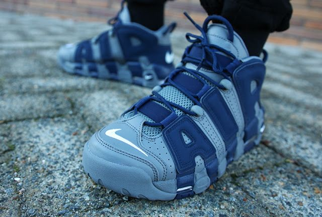 aad16aa45fa Swag Craze: First Look: Nike Air More Uptempo 'Hoyas' | Sneaker Swag ...