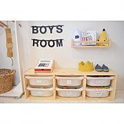 Overview,ダイソー,IKEA,子供部屋,ハンガーラック,収納に関連する他の写真