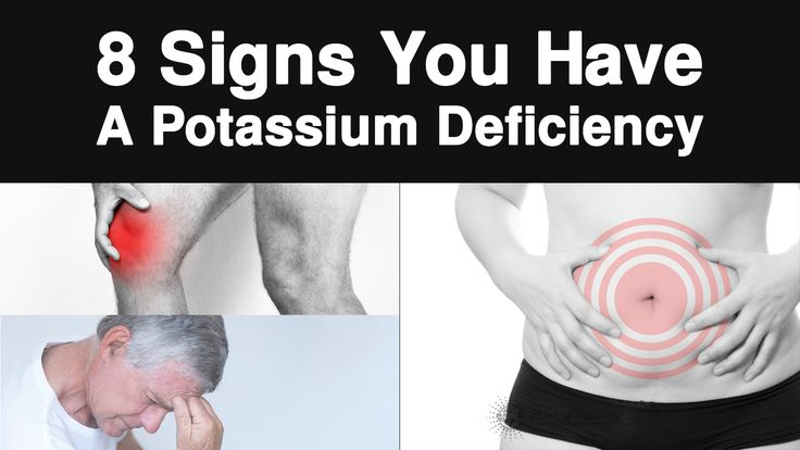 Potassium is one of the most important minerals for the body, but many people don't get enough of it. Here are 8 signs you have a potassium deficiency...