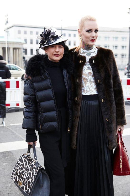 Street Style Berlin Fashion Week Fall 2014