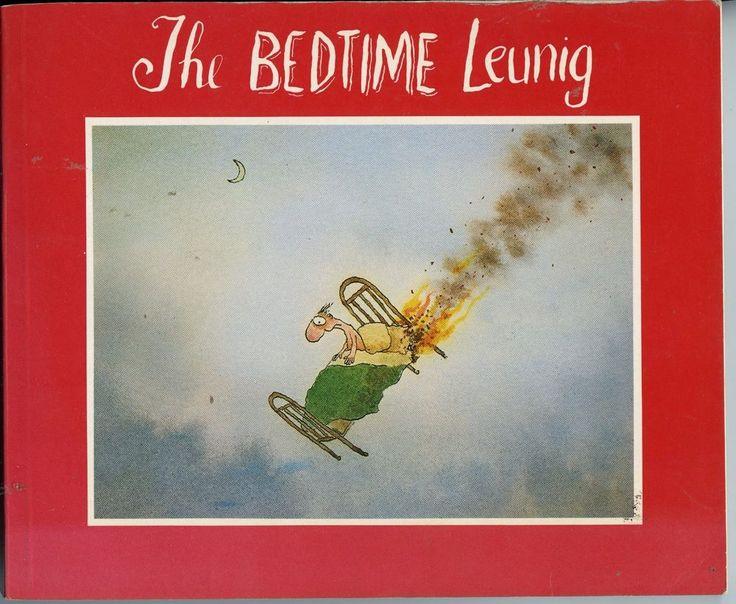 The Bedtime Leunig FREE AUS POST used illustrated cartoons paperback #Textbook