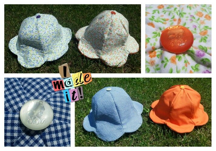 Cappellini fiorellino Tutorial http://www.rileyblakedesigns.com/cutting-corners/2012/2/7/petal-tulip-sun-hat-pattern-and-tutorial/
