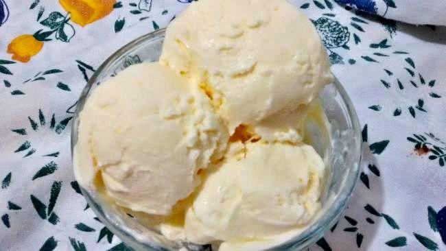 Helado de Crema de Limón