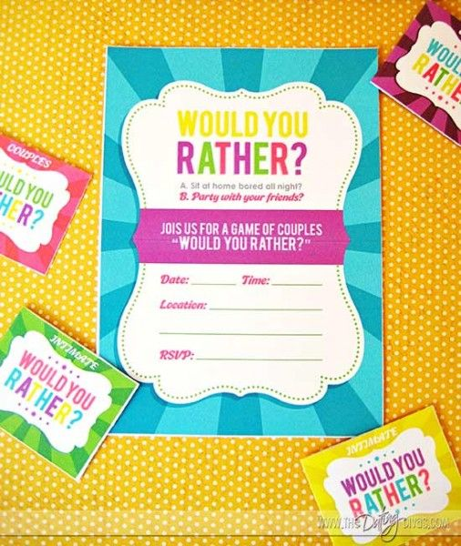would you rather dating divas The perfect list of carefully chosen would you rather questions for you whether you want to start a new game of would you rather, or continue the one you are playing now, you are always good with these would you rather questions would you rather go back to the past and meet your loved ones who .