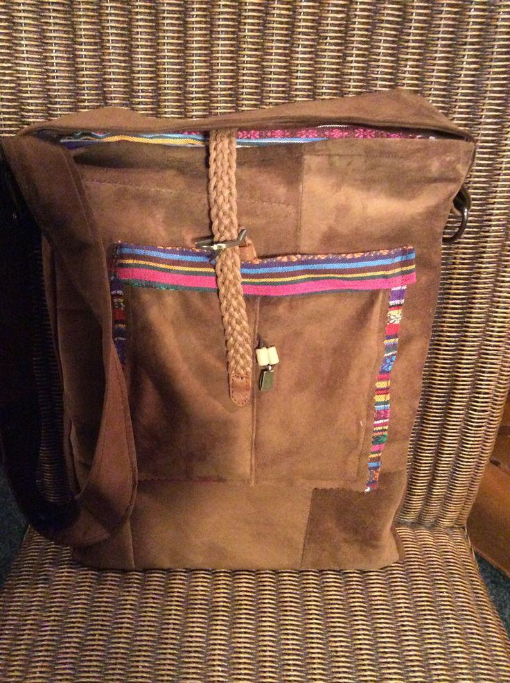 Leren tas (voorkant)