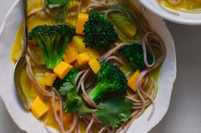 Mango Curry with Fennel and Parsnip - Golubka Kitchen