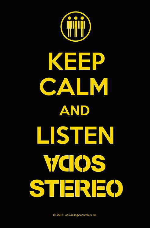 listen Soda Stereo