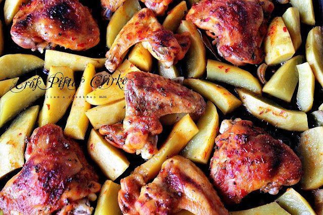 Szellem a fazékban: Erős Pistás tepsis sült csirke