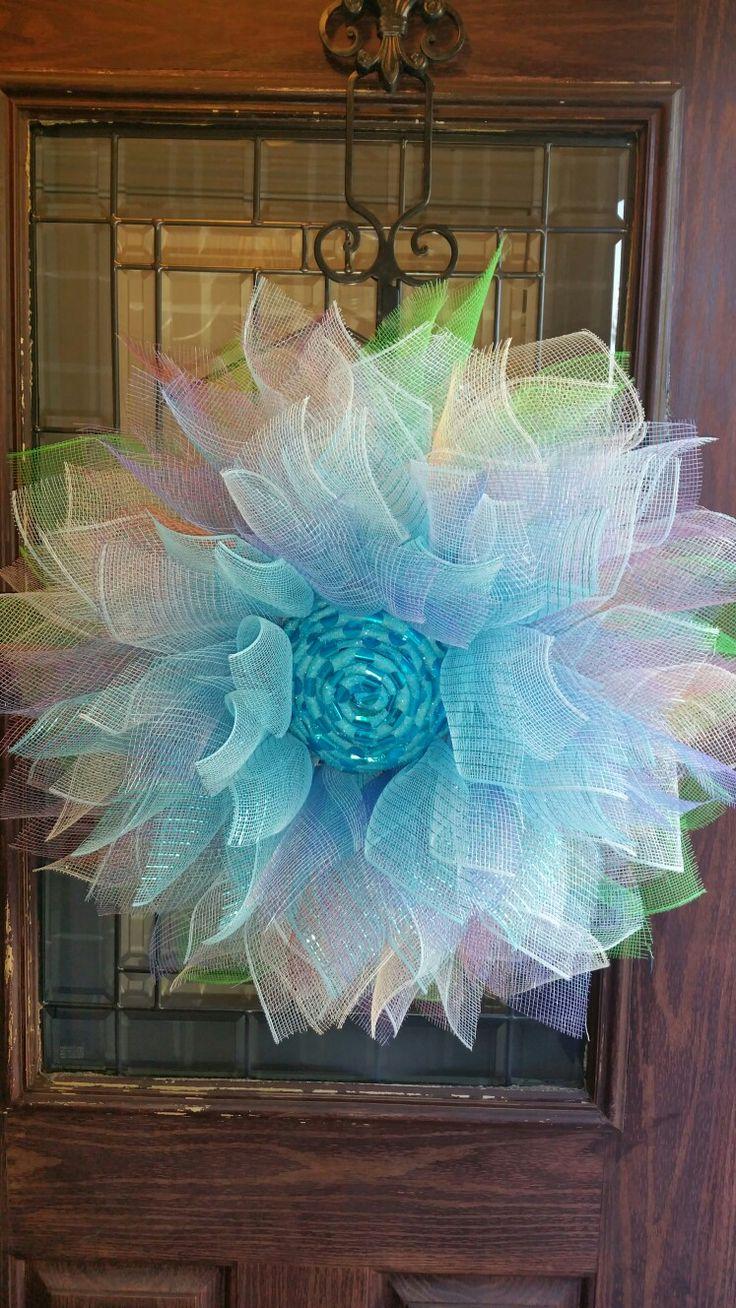 40 best deco mesh wreaths, wreaths images on Pinterest | Crowns ...