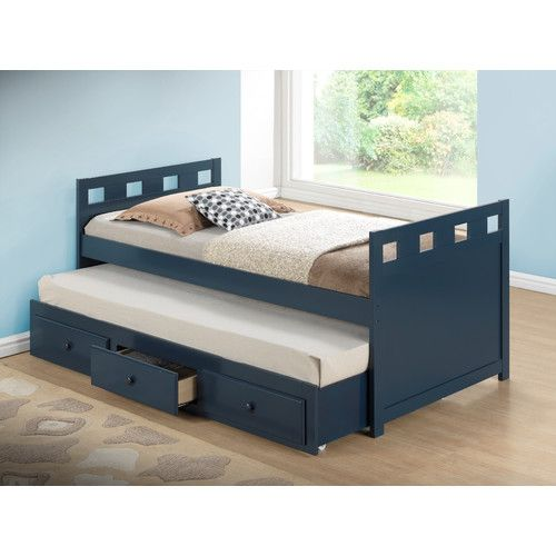 Found it at Wayfair - Breckenridge Twin Captain Bed with Drawer