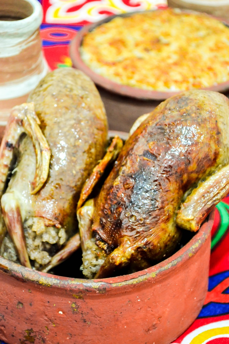 Stuffed Pigeons, recipe from Beram & Tajine E-Magazine: http://issuu.com/beramandtajine/docs/issue1