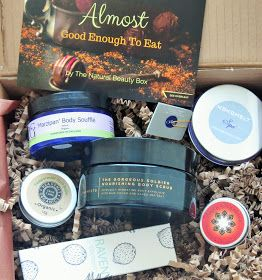 """March's The Natural Beauty Box is entitled """"Almost Good Enough to Eat.."""" and there is an extra edible treat tucked inside. The box costs £2..."""