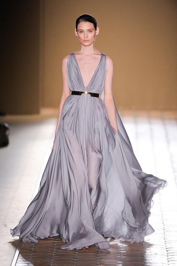 Fabulously flowy! Christophe Josse Haute Couture Autumn 2012