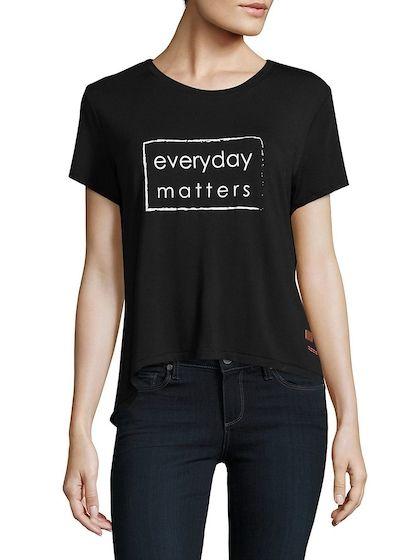 0a201ae0 Zarri Short-Sleeve Tee | Women's Tee Outfit | Peace love world ...