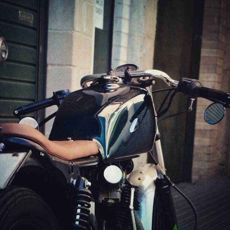 "overboldmotorco: ""Little bitch! #honda #caferacer #clubman #goodstuff #motorcyclesofinstagram #cuatommade #beaspoke #beauty #clean #rad #rat #british #handmade #fancy #cool #instagramers..."