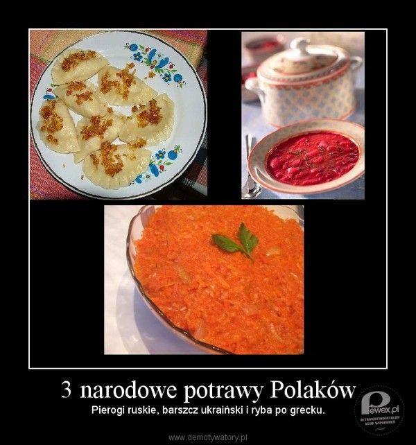 Potrawy narodowe – Może i śmieszne nazwy ale jaki smak!