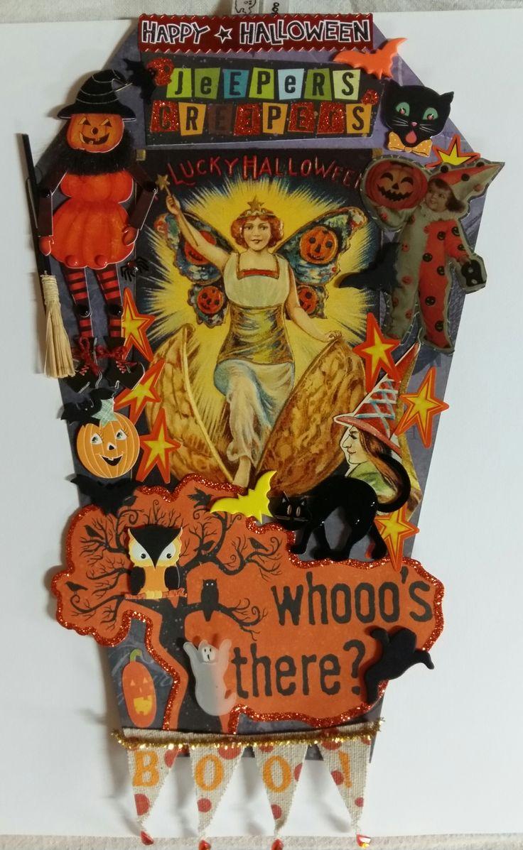 Halloween collage by Vivienne Parfitt