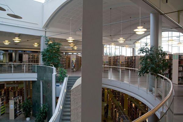 Second floor. Photo by Joni Virtanen