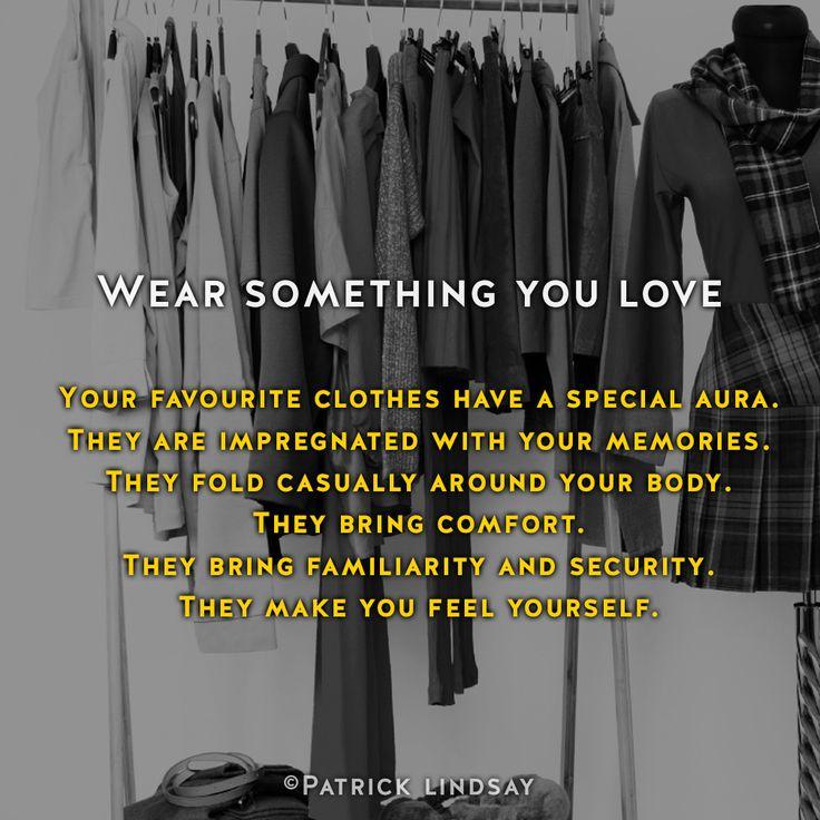 Wear something you love #inspiration #highhopes #makethemostofyou  High Hopes: http://goo.gl/OMpfvh