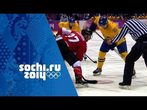 Ice Hockey - Sweden 0 - 3 Canada - Men's Full Gold Medal Match   Sochi 2...