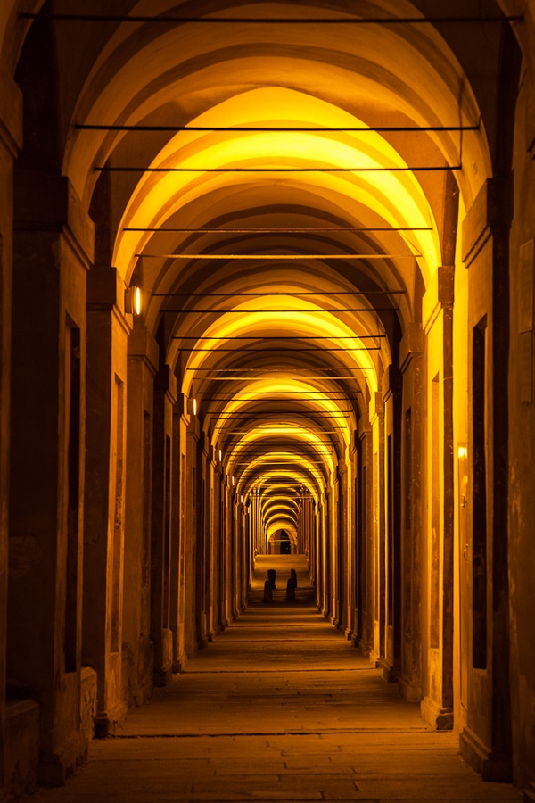Portico of San Luca - Bologna, province of Bologna, Emilia Romagna region Italy