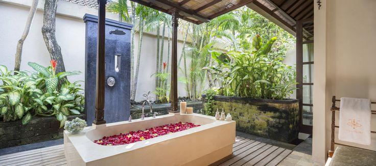 Villa 14 bathroom at Villa Kubu, Seminyak, Bali