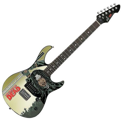 TWD Peavey Guitar Comic Michonne