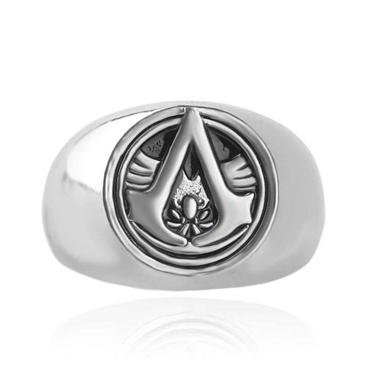 4 Colors New Anime Game Ring Assassin Creed Cospaly Punk Rings For Men The Avengers Ring Vintage Cheap Jewelry  Wholesale Gift