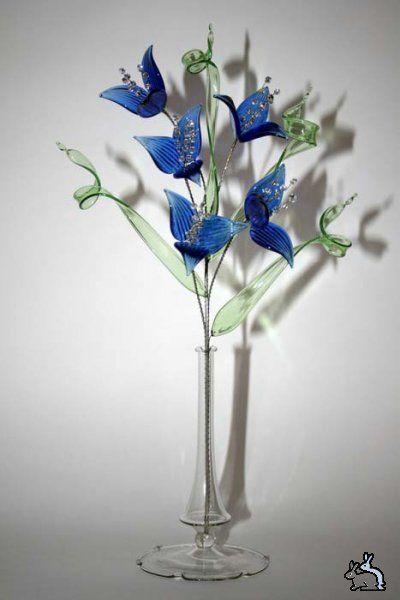 Стеклянные цветы » Сайт веселого настроения