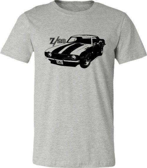 retro z28 muscle car t shirt retro camaro car by. Black Bedroom Furniture Sets. Home Design Ideas
