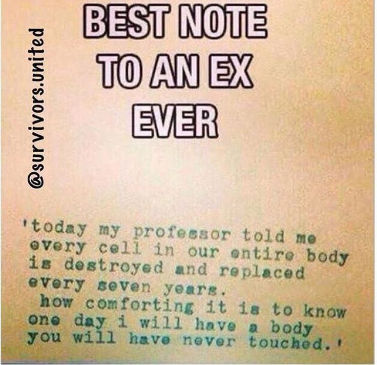 Or that my husband has been free of his skanky ex!!! Lol https://www.musclesaurus.com