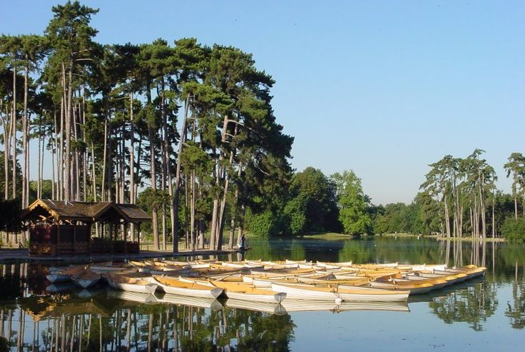 Lower lake of Boulogne forest