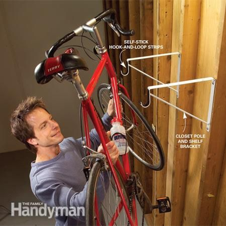 If you've got a lot of stuff lying around your garage, then you're probably knocking over bikes and tripping over building materials more than you'd like. Check out this collection of clever, simple, low-cost garage storage tips that will instantly get your bikes, tools, construction materials and lawn equipment off the floor and out from under foot.