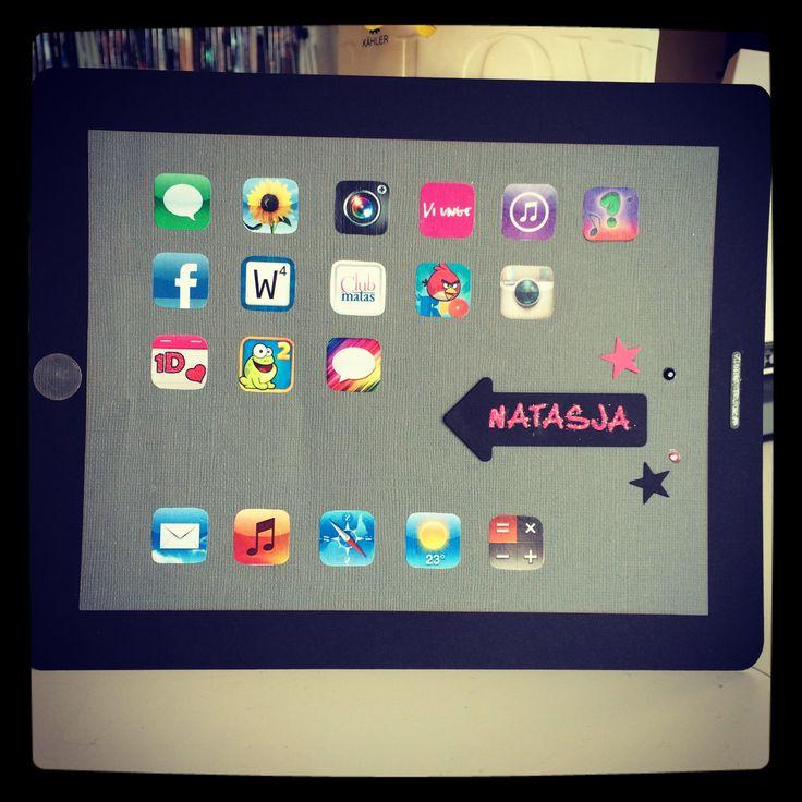 iPad kort til sangskjuler