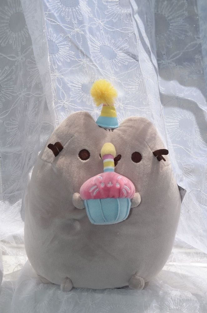 Happy Birthday Plush #Pusheen SOLD OUT Brand New with Tags #Gund